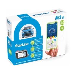 StarLine A63 v2 2CAN+2LIN ECO автосигнализация