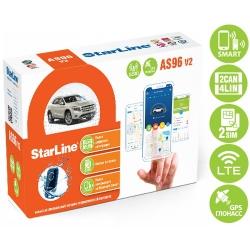 StarLine AS96 v2 BT 2CAN+4LIN 2SIM LTE-GPS автосигнализация