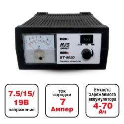 AVS BT-6020 (7A) 6/12V зарядное устройство