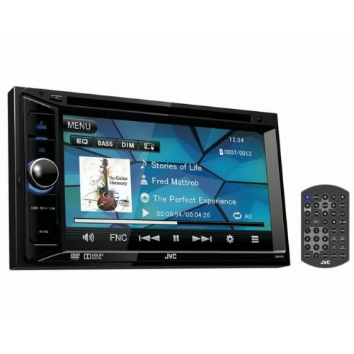 JVC KW-V12 DVD автомагнитола