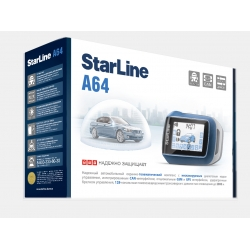 StarLine A64 автосигнализация