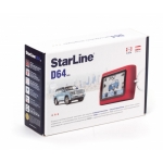 StarLine D64 автосигнализация