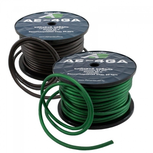 Alphard AE-4GA силовой кабель 4GA