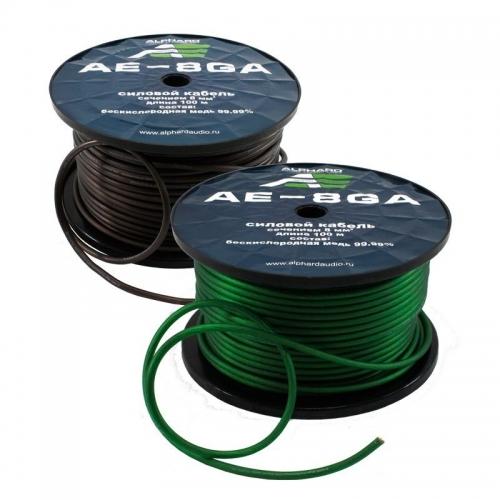 Alphard AE-8GA силовой кабель 8GA