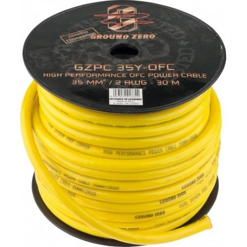 Ground Zero GZPC 35Y OFC 2ga кабель медь