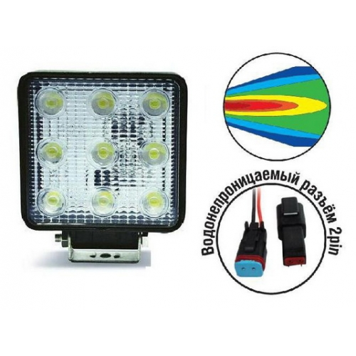 AVS Light SL-1211A (27W) фара