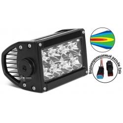 AVS Light SL-1610A (24W) фара + провода WR-01