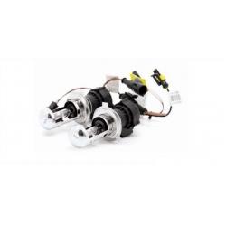 Лампы би-ксенон H4 (4300K) (2 шт.) + комплект проводов KET